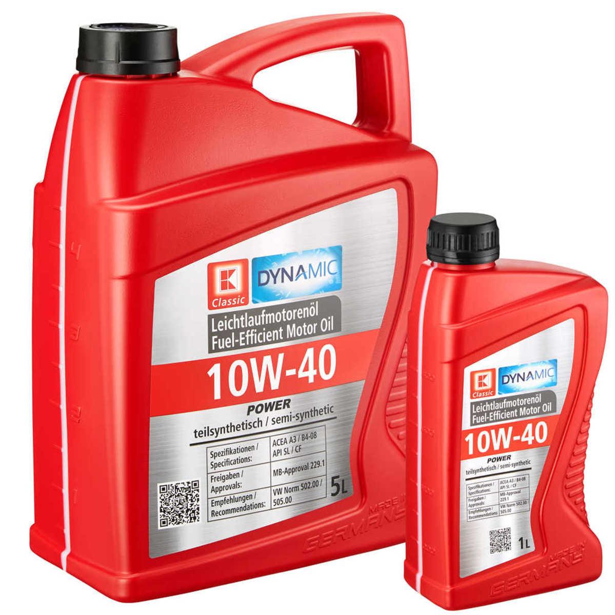 Bild 1 von K-CLASSIC  Motorenöl »10W-40 SL/CF«