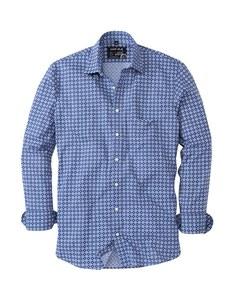 Marvelis - Freizeithemd, langarm, gemustert
