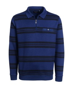 Bexleys man - Sweatshirt, gestreift