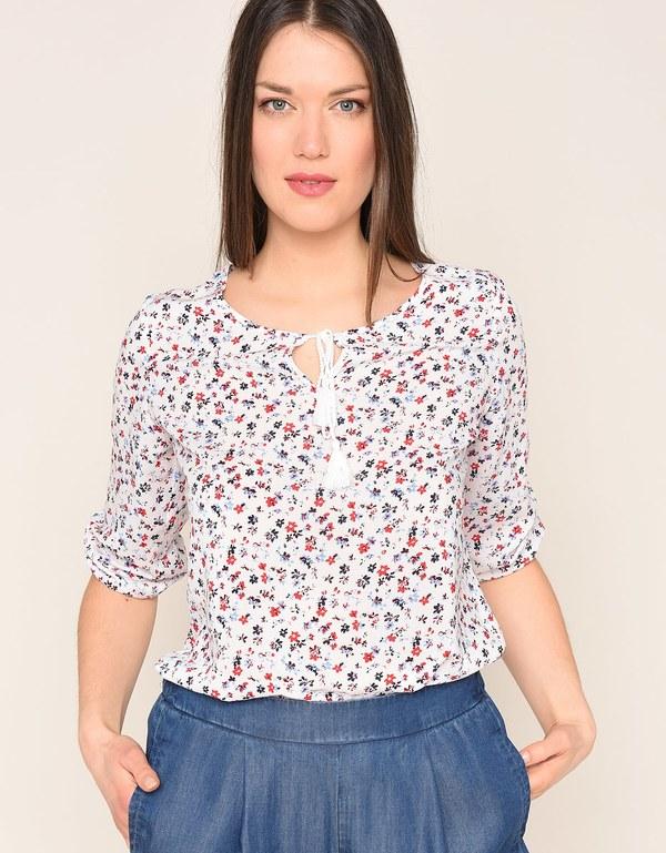 My Own - leichte Bluse mit tollem Blumendruck