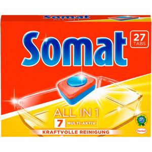 Somat All in 1 Geschirrspültabs: 7 Multi-Aktiv 9.24 EUR/1 kg