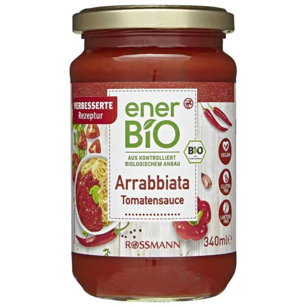enerBiO Bio Tomatensauce Arrabbiata 4.09 EUR/1 l