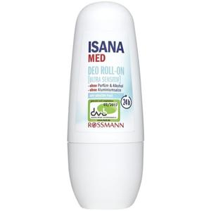 ISANA med Deo Roll-On ultra sensitiv 1.98 EUR/100 ml