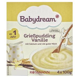Babydream Grießpudding Vanille 3.23 EUR/1 kg