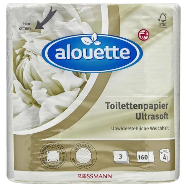 alouette Toilettenpapier Ultrasoft