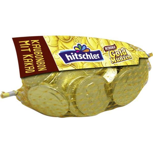 hitschler Schoko Gold Münzen 0.66 EUR/100 g