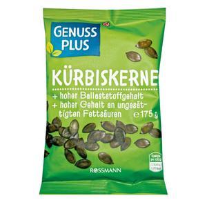 GENUSS PLUS Kürbiskerne 2.05 EUR/200 g