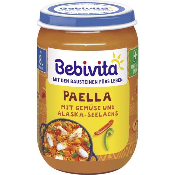 Bebivita Paella mit Gemüse & Alaska-Seelachs 0.36 EUR/100 g (6 x 220.00g)