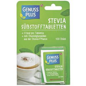 GENUSS PLUS Stevia Süßstofftabletten 100 Stück