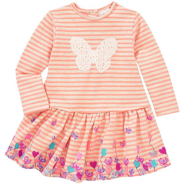 Baby Kleid im Streifen-Look