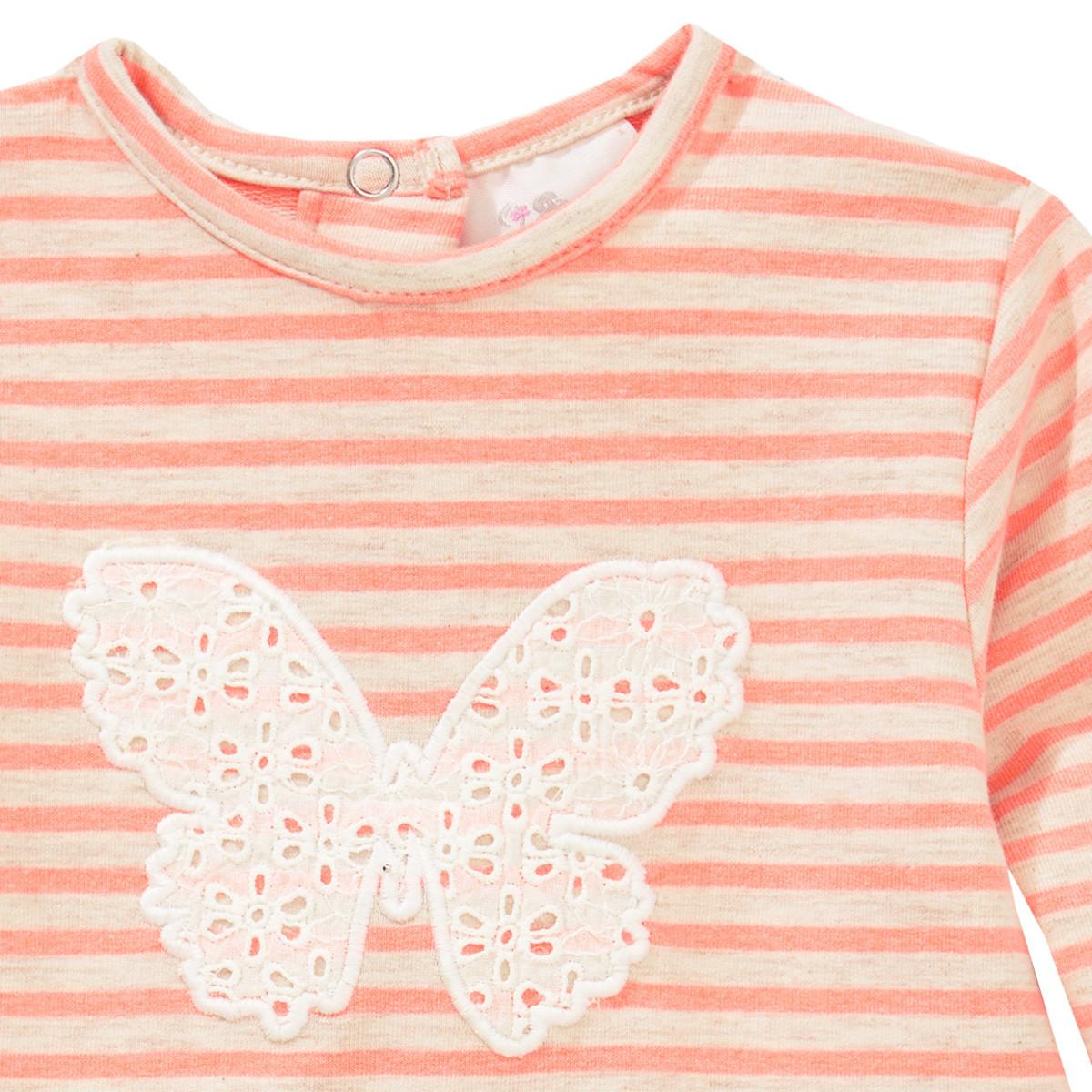 Bild 2 von Baby Kleid im Streifen-Look