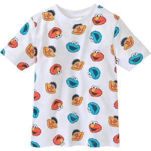 Die Sesamstraße T-Shirt mit Allover-Print