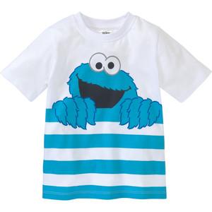 Die Sesamstraße T-Shirt mit großem Print