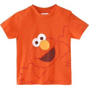 Die Sesamstraße Baby T-Shirt mit Elmo-Motiv