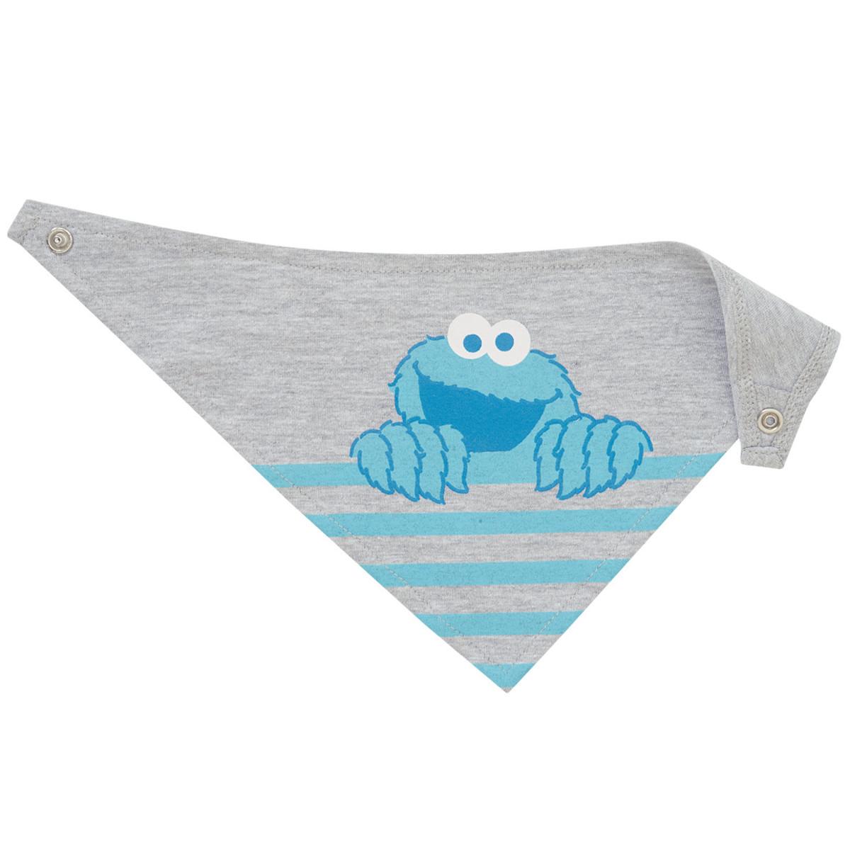 Bild 2 von Die Sesamstraße Baby Bandana mit Print