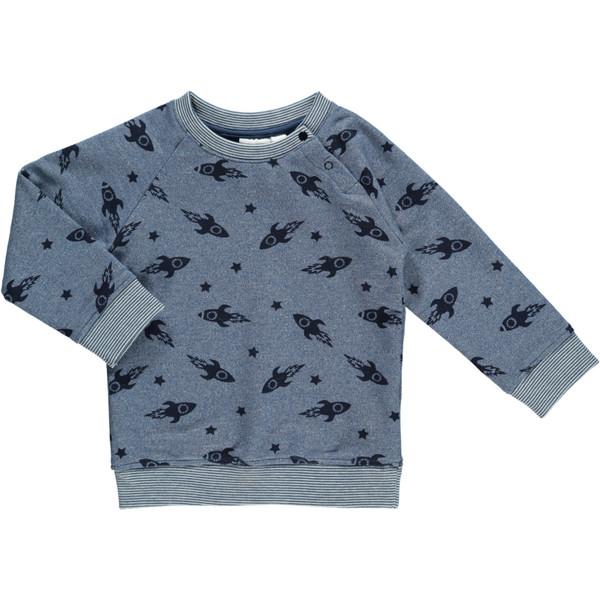 Baby Jungen Sweatsshirt mit Raketen