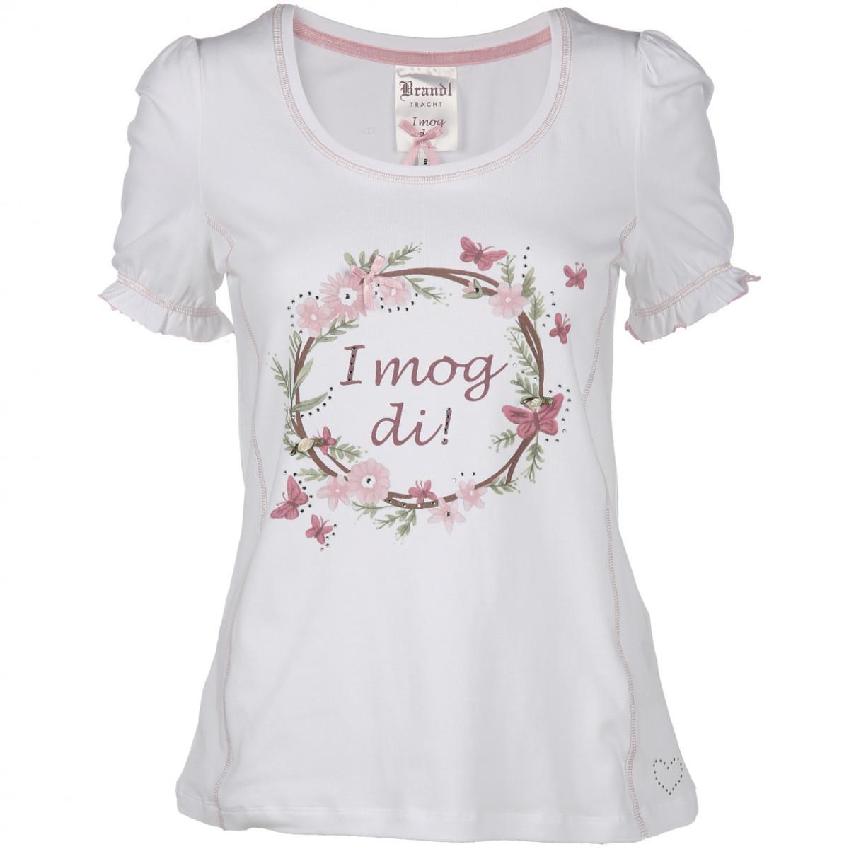 Bild 1 von Damen Shirt im Trachtenlook mit Strasssteinchen