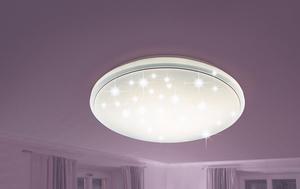 Prisma LED-Deckenleuchte Sternenhimmel