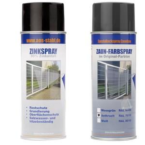 Zubehör - Paket - Zink / Farbspray - 7016 (anth)