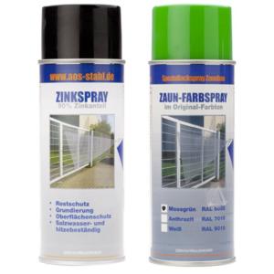 Zubehör - Paket - Zink / Farbspray - 6005 (grün)