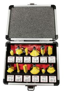 Kraft Werkzeuge Fräser-Set, 12-tlg.