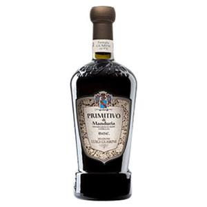Italien Luigi Guarini Primitivo Di Manduria DOC trocken, jede 0,75-l-Flasche