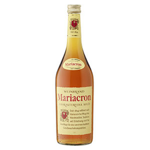 Mariacron Weinbrand 36 % Vol.,  jede 0,7-l-Flasche