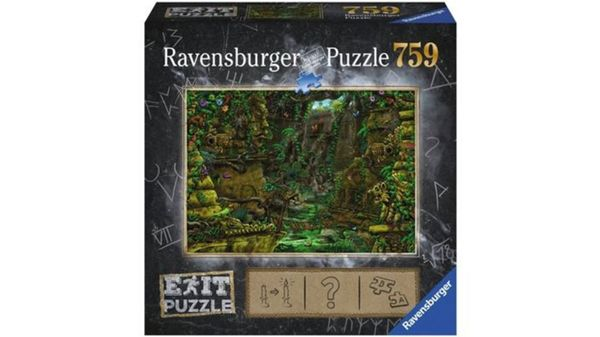 Ravensburger Puzzle - EXIT Tempel in Angkor Wat, 759 Teile