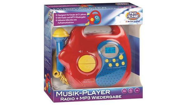 Müller - Toy Place -  Musik-Player, Radio und MP3-Wiedergabe mit Mikrofon