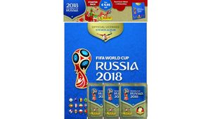 Panini - FIFA World Cup Russia 2018 STARTER-PACK: HARD-COVER-ALBUM + 3 Tüten