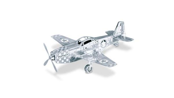 Metalearth - Flugzeuge - Mustang P51
