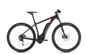 Cube Reaction Hybrid ONE 500 2018 21 Zoll | black´n´red | 29 Zoll