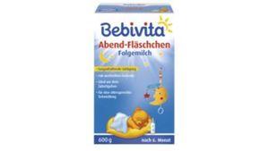 Bebivita Milchnahrung Abend-Fläschchen