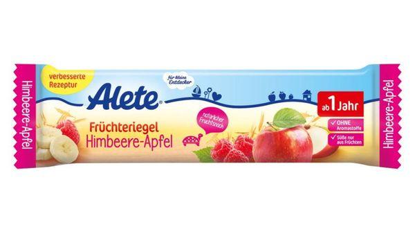 Alete Früchteriegel Himbeere-Apfel