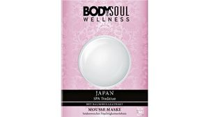 BODY&SOUL Mousse Maske Japan Spa Tradition mit Baumwollextrakt