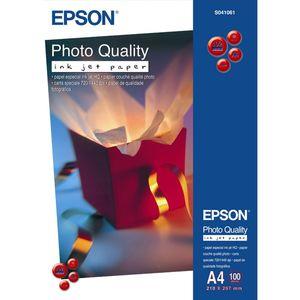Epson A4 102g/m² Photo Quality Fotopapier für Tintenstrahlgeräte Weiß