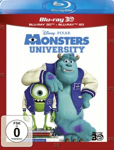 Die Monster Uni [Blu-Ray 3D+2D]