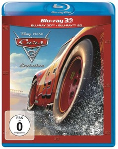 Disney PIXAR Cars 3 Evolution [Blu-Ray 3D+2D]