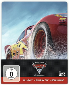 Disney PIXAR Cars 3 Evolution [Blu-Ray 3D+2D+Bonusdisk]