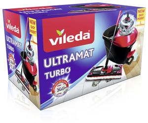 Vileda  Ultramat Turbo Komplett-Set + Tasche gratis