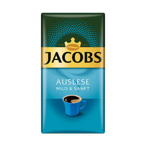 Jacobs Auslese Mild & Sanft | gemahlen | 500g