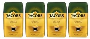 Jacobs Crema Expertenröstung | ganze Bohne | 4x1000g