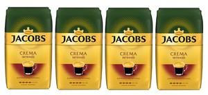 Jacobs Crema Intenso Expertenröstung | ganze Bohne |  4x1000g