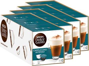 Nescafé Dolce Gusto Cappuccino Intenso | 12 Packungen á  16 Kaffeekapseln