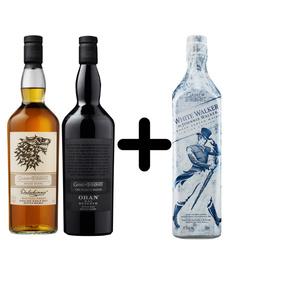 Dalwhinnie & Oban Game of Thrones Whisky je 0,7l dazu White Walker 0,7l Kostenlos