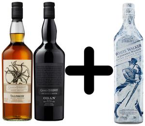 Talisker & Oban Game of Thrones Whisky je 0,7l dazu White Walker 0,7l Kostenlos