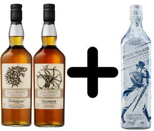 Dalwhinnie & Talisker Game of Thrones Whisky je 0,7l dazu White Walker 0,7l Kostenlos