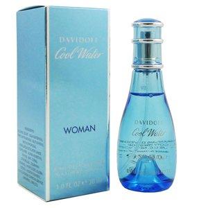 Damenparfum Cool Water Woman Davidoff EDT ; Kapazität: 30 ml.