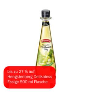 Hengstenberg Delikatess Essig Weisswein