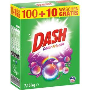 Dash Colorwaschmittel Color Frische Pulver 110 WL 0.09 EUR/1 WL